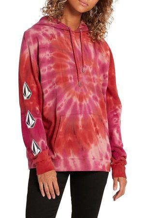 Volcom Women's Iconic Stone Tie Dye Fleece Hoodie