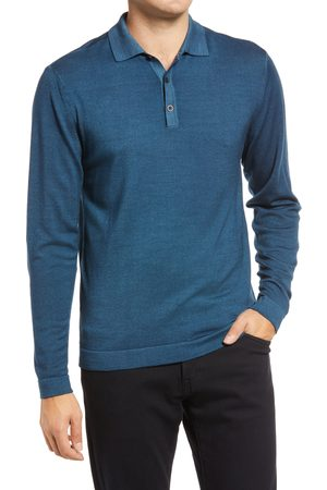 Robert Barakett Men Polo Shirts - Men's Newbury Merino Wool Polo