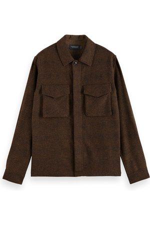 Scotch&Soda Men's Relaxed Wool Blend Overshirt