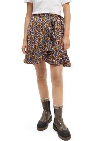 Scotch&Soda Women's Print Wrap Skirt