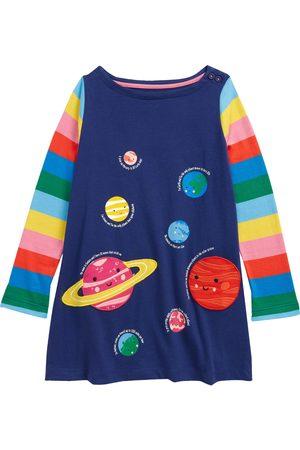 Boden Toddler Girl's Kids' Guinea Pig Applique Floral Tunic Top