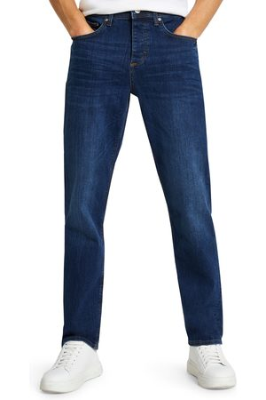River Island Men's Straight Fit Stretch Jeans