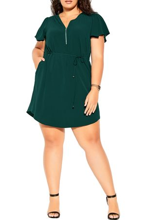 City Chic Plus Size Women's Sweet Fling Crepe Dress
