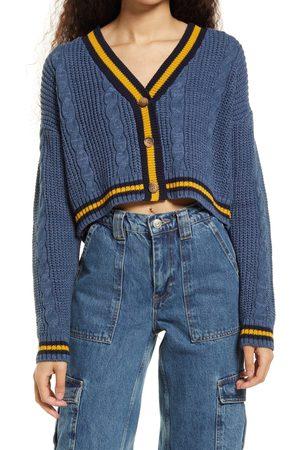 BDG Urban Outfitters Women's Varsity Kai Knit Cardigan