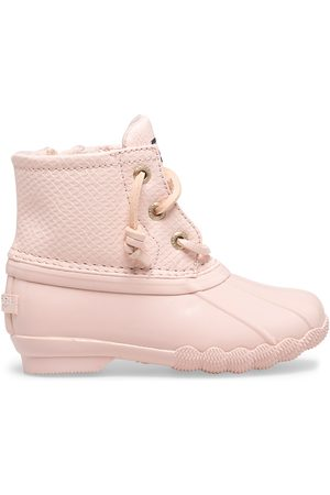 Sperry Top-Sider Boots - Sperry Kids Saltwater Duck Boot Blush, Size 6M