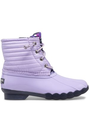 Sperry Top-Sider Boots - Sperry Kids Saltwater Duck Boot Lilac, Size 1M