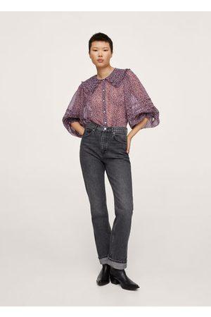 MANGO Women Lingerie Bodies - Babydoll collar blouse