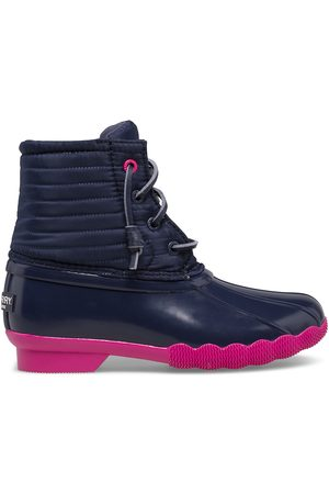 Sperry Top-Sider Boots - Sperry Kids Saltwater Duck Boot Navy/ , Size 1M