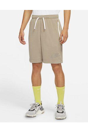 Nike Men Shorts - Wash Pack shorts in stone-Grey