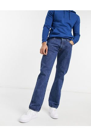 Levi's 501 original straight fit jeans in navy