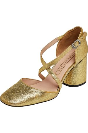 Marc Jacobs Glitter Ankle Strap Sandals Size 36.5