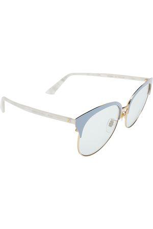 Gucci Gold Tone/Light GG0246SA Round Sunglasses