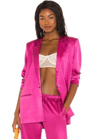 Silk Roads by Adriana Iglesias Women Blazers - X REVOLVE Boyfriend Jacket in .