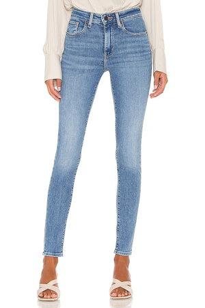 Levi's 721 High Rise Skinny Jean in Blue.