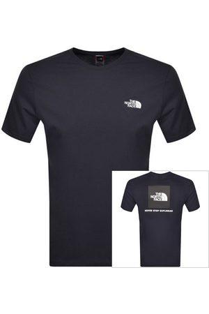 The North Face Men T-shirts - Red Box T Shirt Navy