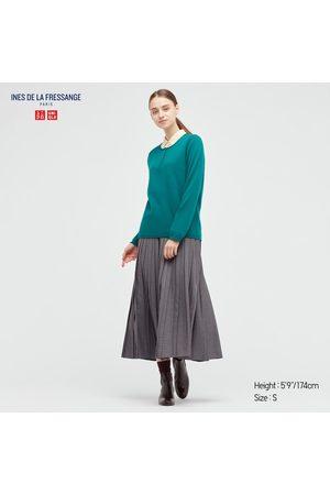 UNIQLO Women's Pleated Skirt (Ines De La Fressange), , XXS