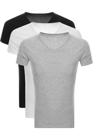 Tommy Hilfiger Men Sweats - Lounge 3 Pack V Neck T Shirts