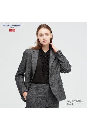 UNIQLO Women Jackets - Women's Tweed Jacket (Ines De La Fressange), , XXS