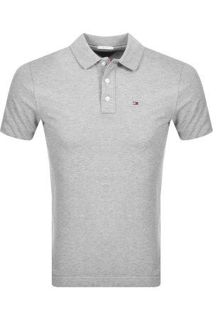 Tommy Hilfiger Slim Fit Polo Shirt Grey