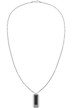 Tommy Hilfiger Pique Dog Tag Necklace