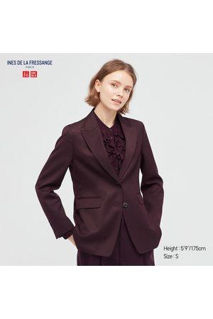 UNIQLO Women Blazers - Women's Wool Blend Jacket (Ines De La Fressange), , XXS