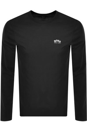 HUGO BOSS BOSS Togn Curved Long Sleeve T Shirt