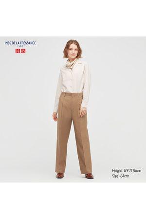 UNIQLO Women's Cotton Wide Pants (Ines De La Fressange), , size 4