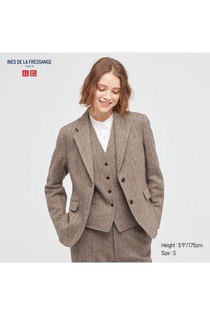 UNIQLO Women's Tweed Jacket (Ines De La Fressange), , XXS