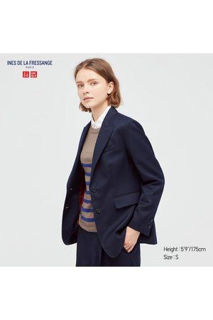 UNIQLO Women's Wool Blend Jacket (Ines De La Fressange), , XXS
