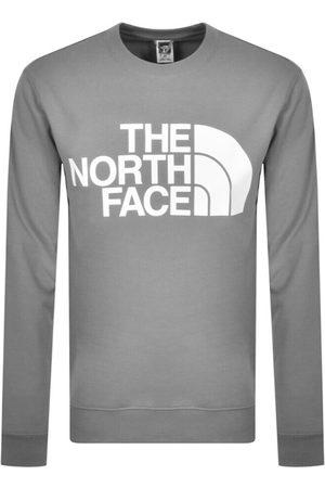The North Face Standard Crew Neck Sweatshirt Grey