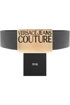 VERSACE Men Belts - Couture PU Leather Logo Belt
