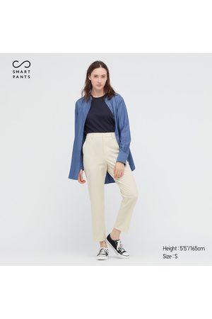 UNIQLO Women's Smart 2-Way Stretch Solid Ankle-Length Pants, , XXS