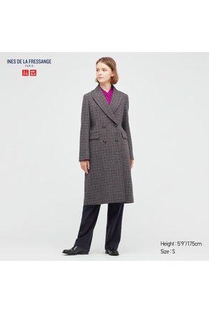 UNIQLO Women's Tweed Coat (Ines De La Fressange), , XXS