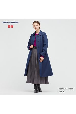 UNIQLO Women's Single Breasted Coat (Ines De La Fressange), , XXS