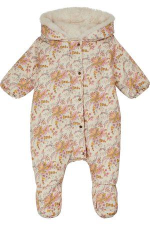 Louise Misha Baby Drisella floral snowsuit
