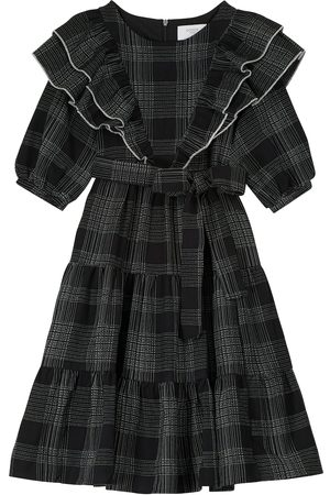 PAADE Checked cotton dress
