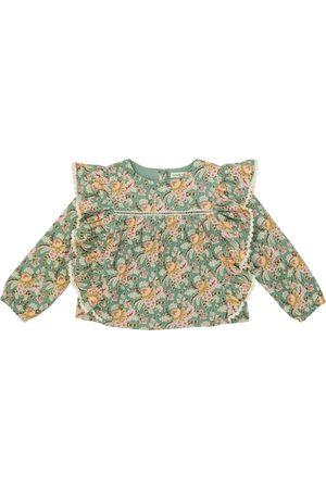Louise Misha Celia floral cotton blouse