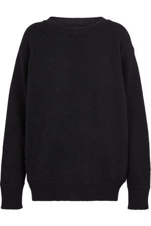 Les Tien Cashmere knit crop sweater
