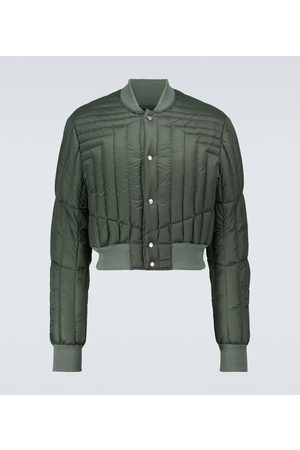 Rick Owens Quilted bomber jacket