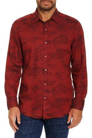 Robert Graham Men's The Joan Classic Fit Floral Jacquard Button-Up Shirt