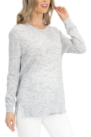 Angel Maternity Women's Space Dyed Maternity Sweater