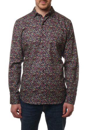 Robert Graham Men's Canemah Floral Button-Up Shirt