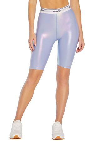 Wild Fox Women's Ava Iridescent Bike Shorts