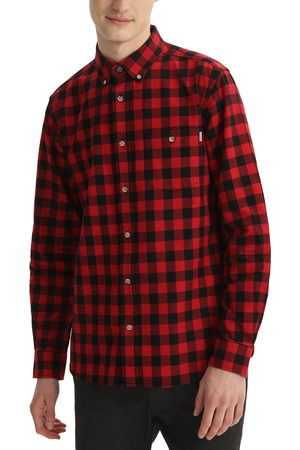 Woolrich Men's Tradition Cotton Flannel Long Sleeve Button Down Shirt