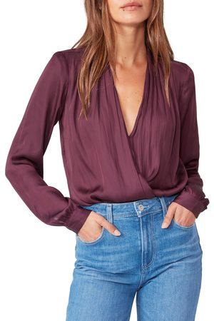 Paige Women's Sevilla Faux Wrap Bodysuit