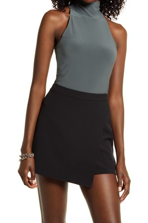 Open Edit Women's Turtleneck Bodysuit