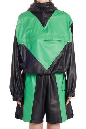 Bottega Veneta Women's Waterproof Calfskin Leather Anorak