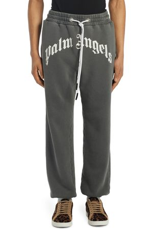 Palm Angels Men's Logo Cotton Sweatpants