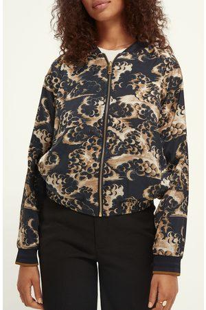 Scotch&Soda Women's Reversible Bomber Jacket