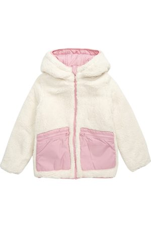 Tucker + Tate Toddler Girl's Kids' Reversible Fleece & Quilted Puffer Jacket